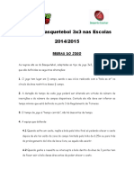 Regras Basquetebol 3x3