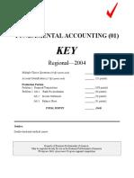 01 Fundamental Accounting Key