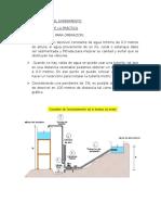 Ariete Hidraulico Informe
