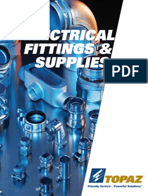 Electrical Fittings Catalog- Topaz | Machines | Materials