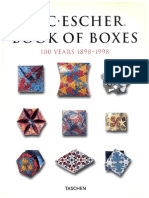 ORIGAMI - M.C. Escher Book of Boxes