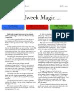 soccer newsletter may 1 2013