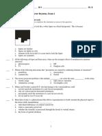 Exam 2 Answers Version B
