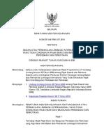 PMK 148 Tahun 2010 - Badan Atau Perwakilan Lembaga Internasional Yang Tidak Dikenakan PBB