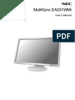 EA231WMi User Manual v2