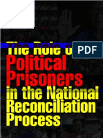 The Role of Political Prisoners in the National Reconciliation Process
