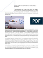 Airline documentation