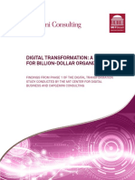 Digital Transformation a Road-Map for Billion-Dollar Organizations