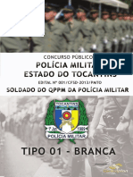 Consulplan 2013 Pm to Soldado Da Policia Militar Prova (1)