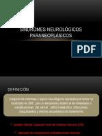Síndromes Neurológicos Paraneoplásicos Diapo