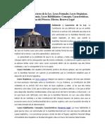 Tema 9 El Poder Legislativo