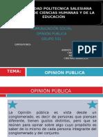 Expo Opinion Publica