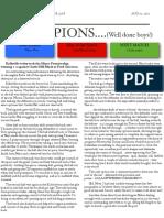 soccer newsletter aug 11 2012