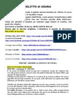 Delitto Di Usura- 4- 23.06.2012