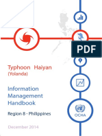 Typhoon Haiyan Information Management Handbook
