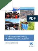 Typhoon Bopha (Pablo) Humanitarian Handbook