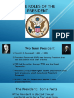 presidental roles and hat assignment