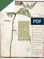 Plano de La Villa de San Felipe Fundada en 1740 Chile.