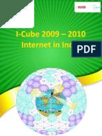Internet in India iCUBE  2010 Report