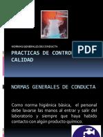 1 Normas Generales de Conducta