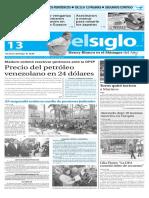 Edicion Impresa El Siglo 13-01-16