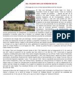 Historia Del Colegio San Luis Gonzaga de Ica