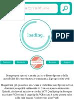Corso Wordpress Milano