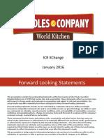 NDLS Jan 2016 Investor Presentation