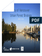 Urban Forest Strategy VANCOUVER Draft