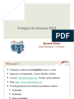 315_Postgres in Amazon RDS