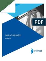 ENV Envestnet Investor Presentation 2016-01-11