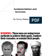 Islamic Fundamentalism and Terrorism1868