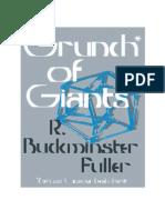 Grunch of Giants - Buck Minster Fuller
