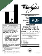 Whirlpool manual 318051-002