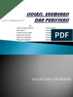 Isolasi, Enumerasi Dan Purifikasi Revisi