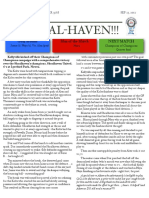 soccer newsletter sept 23 2012