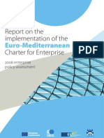 Report on the implementation of the Euro-Mediterranean Charter for Enterprise - 2008 enterprise policy assessment