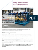 14 Energy-efficiency Improvement Opportunities in Pumping Systems