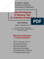 IIE Interview Tips