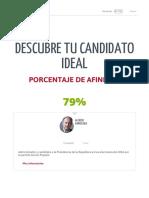 Mi Candidato Ideal - Elecciones 2016 - LaRepublica