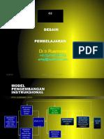 Desain Pembelajaran Sekolah
