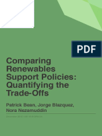 Comparing Renewables Support Policies- Quantifying the Trade-Offs