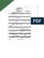 Concertino Para Clarinete de c.m. Weber Alto Clarinet