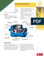 SM008 RevA 2005 Motors and Generators Preventive Maintenance Kits Lowres