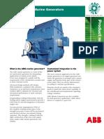 Product Notes M004 Mar07 AMG Marine Generator