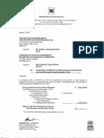 Ltr_sec-pse 011216 Quarterly_use of Proceeds for Warrants_Dec2015