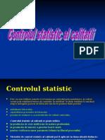Controlul Statistic