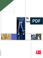 Vacuum Circuit-breaker VD4 -High Duty