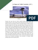 Pengertian Dan Tujuan Air Traffic Controller