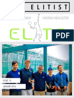 ETA - Newsletter Issue 13 - January 2016